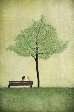 The Cherry Tree - Summer by Maja Lindberg