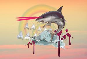 Majestic Laser Shark