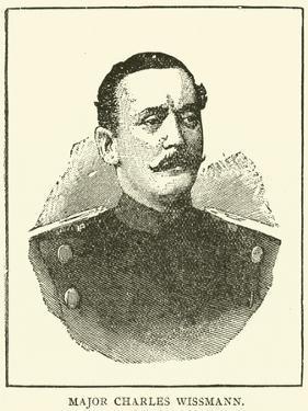 Major Charles Wissmann