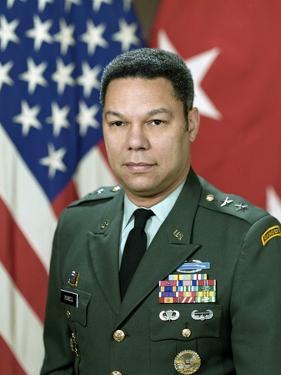Major General Colin L. Powell, Nov. 21, 1984