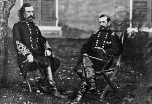Major General Custer, General Pleasanton
