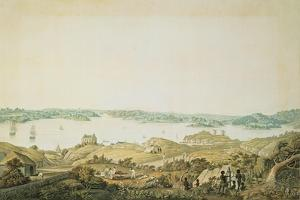 Part of the Harbour of Port Jackson and the Country Between Sydney and the Blue Mountains, New… by Major James Taylor