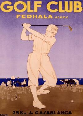 Golf Cup, Fedhala Maroc by Majorelle