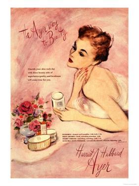 Make-Up Harriet Hubbard Ayer, UK, 1940