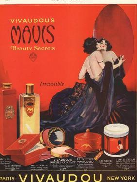 Make-Up Womens Skincare, USA, 1920