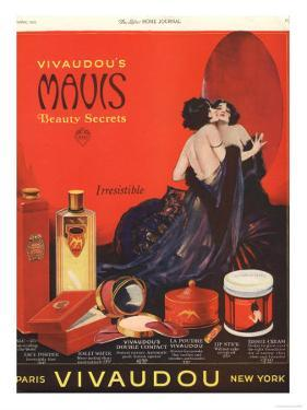 Make-Up Womens Skincare, USA, 1920