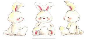 Rabbits by Makiko
