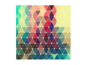 Vector Abstract Colorful Geometric Pattern by Maksim Krasnov