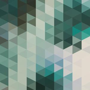 Vector Abstract Triangles Background by Maksim Krasnov