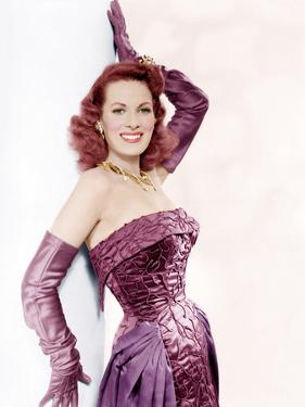 Malaga, (aka Fire Over Africa), Maureen O'Hara, 1954