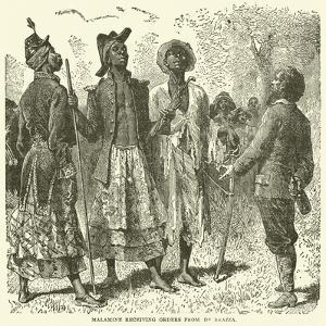 Malamine Receiving Orders from De Brazza