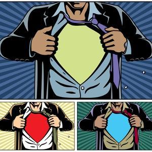 Superhero under Cover by Malchev