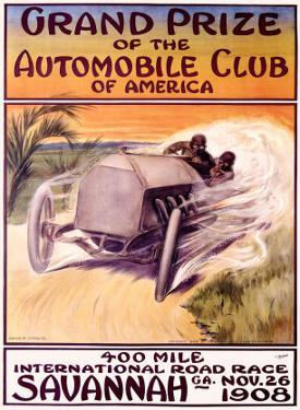 Automobile Club of America, Savannah Race by Malcolm A. Strauss