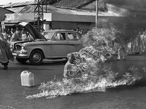 Vietnam Monk Protest by Malcolm Browne