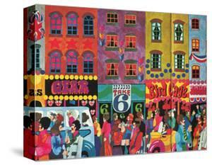 A Saturday Morning 2, from 'Carnaby Street' by Tom Salter, 1970 by Malcolm English