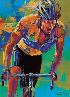 Lance Armstrong – 7X Tour de France Champion by Malcolm Farley