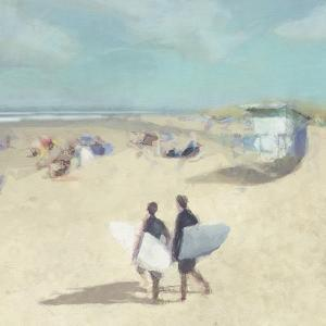Beach Break Duo by Malcolm Sanders