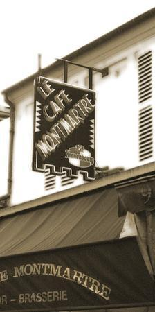 Cafe Montmartre by Malcolm Sanders