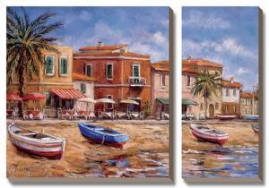 Beachside Cafes by Malcolm Surridge