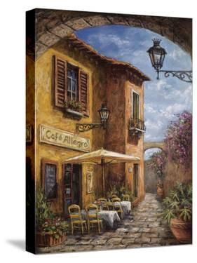 Courtyard Cafe by Malcolm Surridge