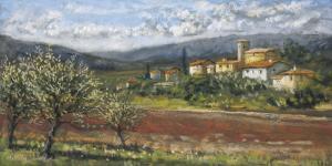 Hillside Olives by Malcolm Surridge
