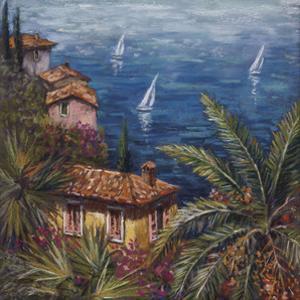 View Through Palms by Malcolm Surridge