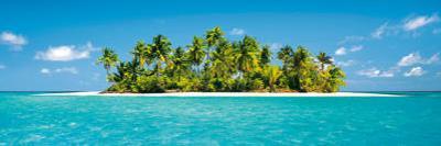 Maldives Island (Tropical Beach) Art Poster Print