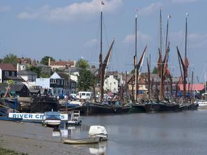 Maldon, a Blackwater Estuary Town Known For Its Thames Sailing Barges, Essex, England, Uk