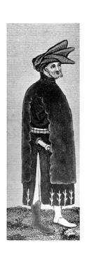 Male Dress, Late 14th Century