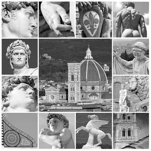 Art of Florence - Collage by Malgorzata Kistryn