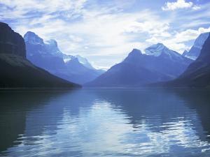 Maligne Lake, Alberta, Rockies, Canada by J Lightfoot