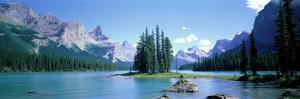 Maligne Lake Near Jasper, Alberta, Canada