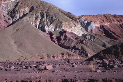 Domeyko Mountains, Called Rainbow Valley, Atacama Desert, Chile