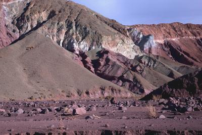 Domeyko Mountains, Called Rainbow Valley, Atacama Desert, Chile by Mallorie Ostrowitz