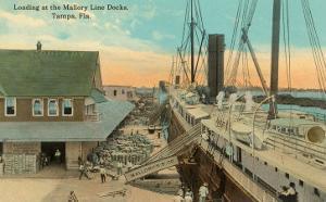 Mallory Line Docks, Tampa, Florida