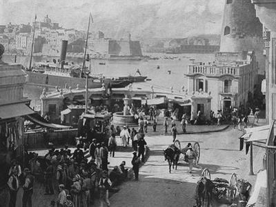 Malta, Valletta Fish 1897