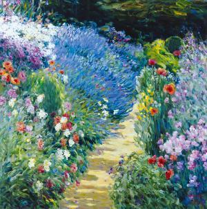Monet's Garden by Malva