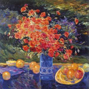 Still Life with Poppy by Malva
