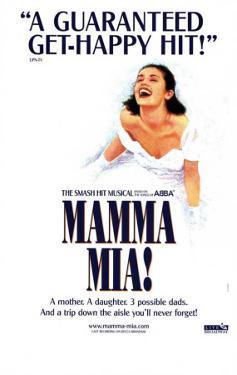 Mamma Mia - Broadway Poster