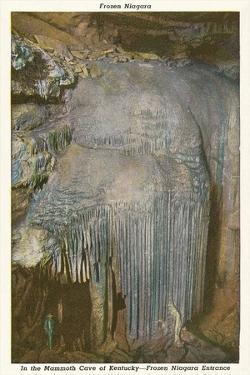 Mammoth Cave, Frozen Niagara Entrance