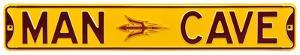 Man Cave Arizona State Steel Sign