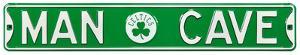 Man Cave Boston Celtics Steel Sign