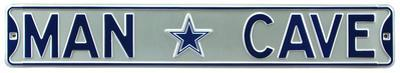 Man Cave Dallas Cowboys Steel Sign