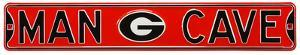 Man Cave Georgia Bulldogs Steel Sign