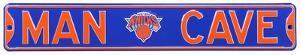 Man Cave NY Knicks Steel Sign