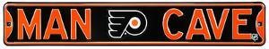 Man Cave Philadelphia Flyers Steel Sign