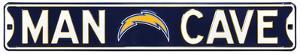 Man Cave San Diego Chargers Steel Sign