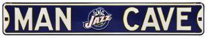 Man Cave Utah Jazz Steel Sign