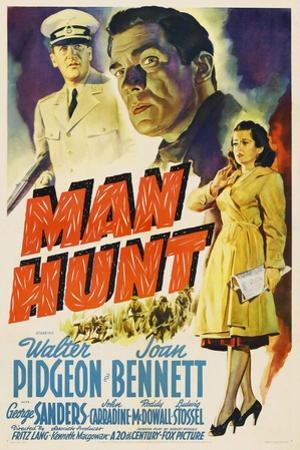 Man Hunt, 1941, Directed by Fritz Lang