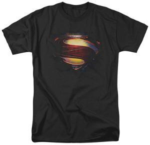 Man of Steel - Grungy Shield